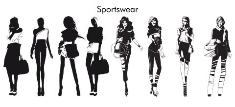 silhouettes sportswear